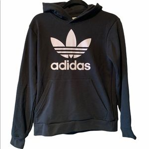 Adidas trefoil youth size large hoodie NWT